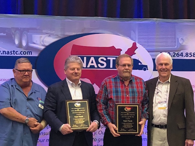 Cowen Driver Awarded NASTC Driver of the Year